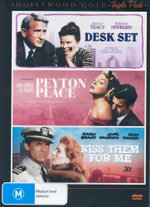 Desk Set/Peyton Place/Kiss Them for Me (3 Discs) - Lee Philips