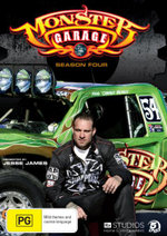 Monster Garage Complete Season 4 - Jesse James