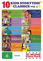 Kids Storytime Classics Pack : Volume 1 (The Three Little Pigs/Puss in Boots/The New Adventures of Robin Hood/ The Fantastic Voyages of Sinbad/The Coun