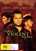 Three Violent People - Tom Tryon