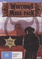 Westerns Mega Pack : 10 Movies - 3 Discs