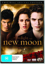 The Twilight Saga : New Moon (2 Disc Special Edition) - Robert Pattinson