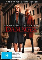 Damages : Season 3 (3 Discs) - Rose Byrne