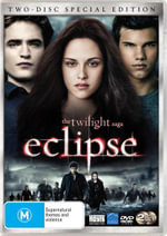 The Twilight Saga : Eclipse (2 Disc Special Edition) - Robert Pattinson