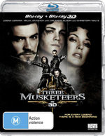 The Three Musketeers (2011) (3D Blu-ray/Blu-ray) - Christoph Waltz