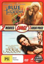 The Blue Lagoon / Return to the Blue Lagoon (OMG Pack) : The Gentleman's Collection (Houseboat / Indiscreet... - Brooke Shields