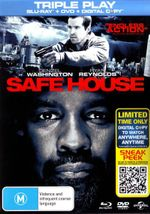 Safe House (Blu-ray/DVD/Digital Copy) (3 Discs) - Ryan Reynolds