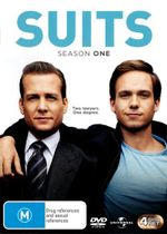 Suits : Season 1 (4 Discs) - Patrick J. Adams