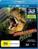 Dinosaurs Alive! (IMAX) (3D Blu-ray/Blu-ray) - Michael Douglas