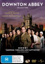 Downton Abbey : Season 2 (5 Discs) - Maggie Smith