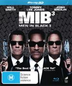 Men in Black 3  (3D Blu-ray) - Will Smith