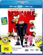 Despicable Me (3D Blu-ray/Blu-ray) - Steve Carell