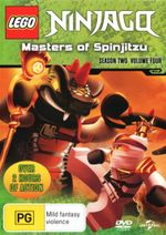 Lego Ninjago : Masters of Spinjitzu - Season 2 Volume 4 - Vincent Tong