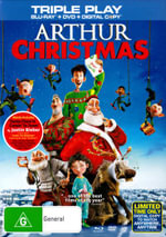 Arthur Christmas (Blu-ray/DVD/Digital Copy) (3 Discs) - Bill Nighy