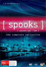Spooks : Seasons 1 - 10 Boxset (39 Discs) - Nicola Walker