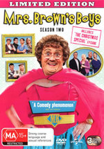 Mrs Brown's Boys : Season 2 (with Christmas Special) - Dermot ONeill