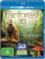Rainforest (3D Blu-ray / Blu-ray) - James Lance