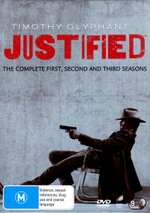 Justified : Seasons 1 - 3 (9 Discs) - Joelle Carter