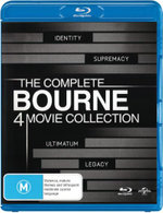The Complete Bourne 4 Movie Collection (Identity / Supremacy / Ultimatum / Legacy) - Jeremy Renner