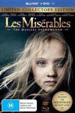 Les Miserables (2012) (Blu-ray/DVD/CD) (Limited Edition) (3 Discs) - Amanda Seyfried