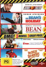 Johnny English / Mr Bean's Holiday / Bean : The Ultimate Disaster Movie / Evan Almighty / Dudley Do-Right (5 Movies) (OMG!) - Steve Carell