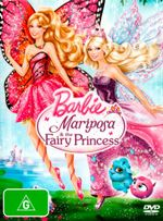 Barbie Mariposa and The Fairy Princess (DVD/UV) - Jane Barr