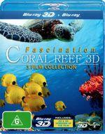 Fascination Coral Reef / Fascination Coral Reef : Hunters and the Hunted / Fascination Coral Reef: Mysterious Worlds Under Water (3D Blu-ray/Blu-ray) - Rene Schoepfer