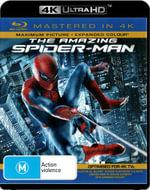 The Amazing Spider-Man (Blu-ray/Blu-ray 4KHD) - Andrew Garfield