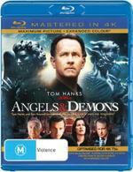 Angels and Demons (Blu-ray/Blu-ray 4K HD) - Tom Hanks