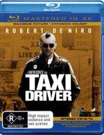 Taxi Driver  : Blu-ray/Blu-ray 4K HD - Robert De Niro