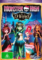 Monster High : 13 Wishes (DVD/UV) - Not Specified