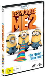Despicable Me 2 (DVD / UV) - Steve Carell