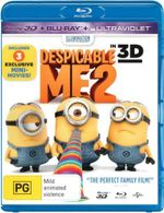 Despicable Me 2 (3D Blu-ray / Blu-ray / UV) - Steve Carell