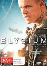 Elysium (DVD/UV) - Matt Damon