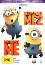Despicable Me / Despicable Me 2 (DVD/UV) (2 Discs) - Russell Brand