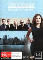 Law and Order : Special Victims Unit - Season 14 (6 Discs) - Mariska Hargitay