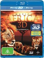Amazing Africa (3D Blu-ray/Blu-ray) - Patrick Byer