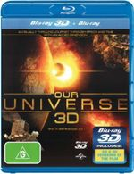 Our Universe (3D Blu-ray/Blu-ray) - Glen McCready