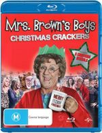 Mrs Brown's Boys : Christmas Crackers (Christmas Special / Mammy Christmas / The Virgin Mammy) (1 Disc) - Paddy Houlihan
