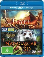 Egypt / Madagascar (3D Blu-ray/Blu-ray) (Limited) - Not Specified