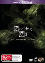 Breaking Bad : The Complete Collection (DVD/UV) 21 Discs - Anna Gunn