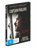 Captain Phillips (DVD/UV) - Tom Hanks