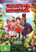 Cloudy With a Chance of Meatballs 2 (DVD/UV) - Bill Hader