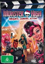 Monster High : Frights, Camera, Action! (DVD/UV) - Cameron Clarke