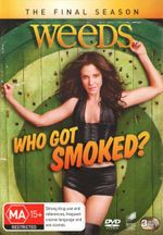 Weeds : Season 8 (3 Discs) - Hunter Parrish