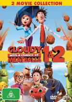 Cloudy With a Chance of Meatballs / Cloudy With a Chance of Meatballs 2 (DVD/UV) - Anna Faris