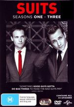 Suits : Season 1 - 3 - (12 Disc) - Gabriel Macht