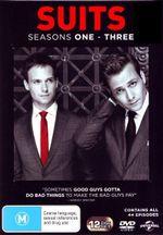 Suits : Season 1 - 3 - (12 Disc) - Gabriel Macht
