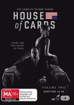 House of Cards : Volume 2 - Chapters 14 - 26 DVD/UV - Kevin Spacey