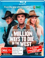 A Million Ways to Die in the West (Blu-ray/UV) - Seth MacFarlane